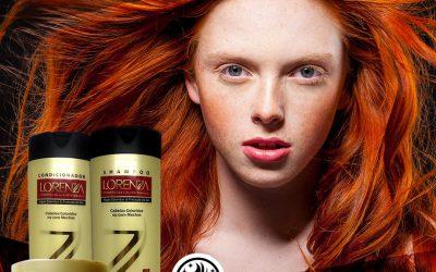 Kit Lorenza para cabelos coloridos ou com mecha
